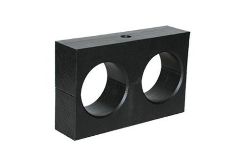 PE pipe support block