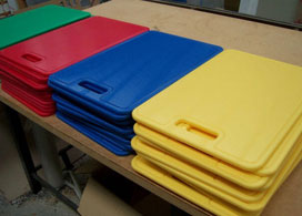 Colourful UHMWPE Cutting Boards
