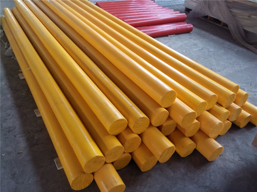 Colored UHMW Polyethylene Square or Round Bar