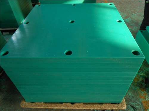 Green UHMWPE Fender plate /UHMWPE Fender pads