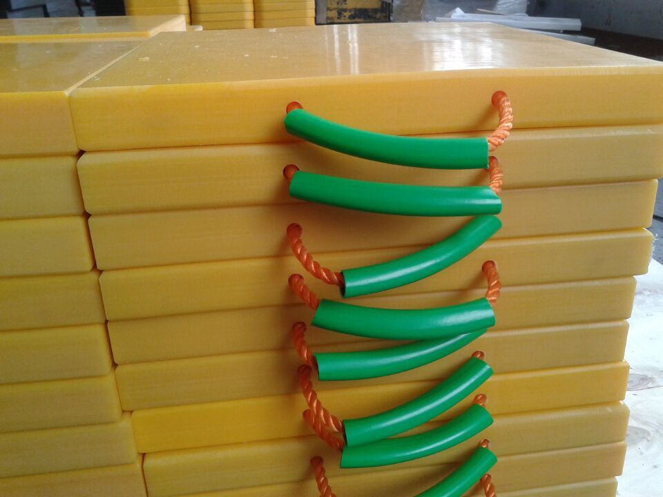 UHMWPE outrigger pad | truck stabilizer legs | crane outrigger pad