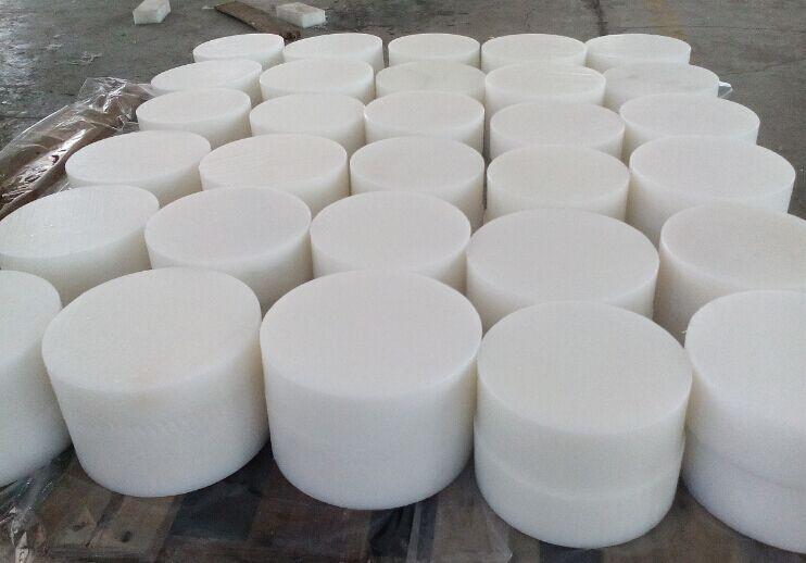Plastic Rigid Rod | HDPE/UHMWPE/PA6 White Rod