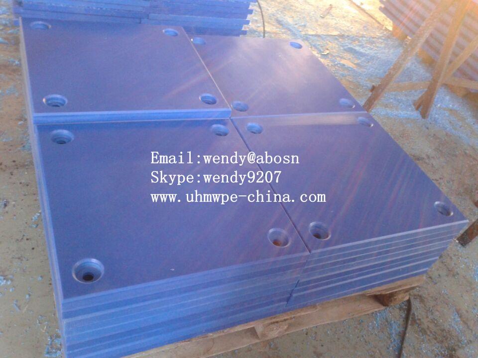 PE 1000 Blue Fender pads | UHMWPE Fender panel