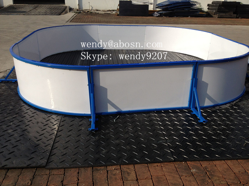 Ice Rink Barrier/Fence for Backyard Playground