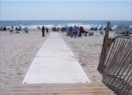 Beach Access Matting in America