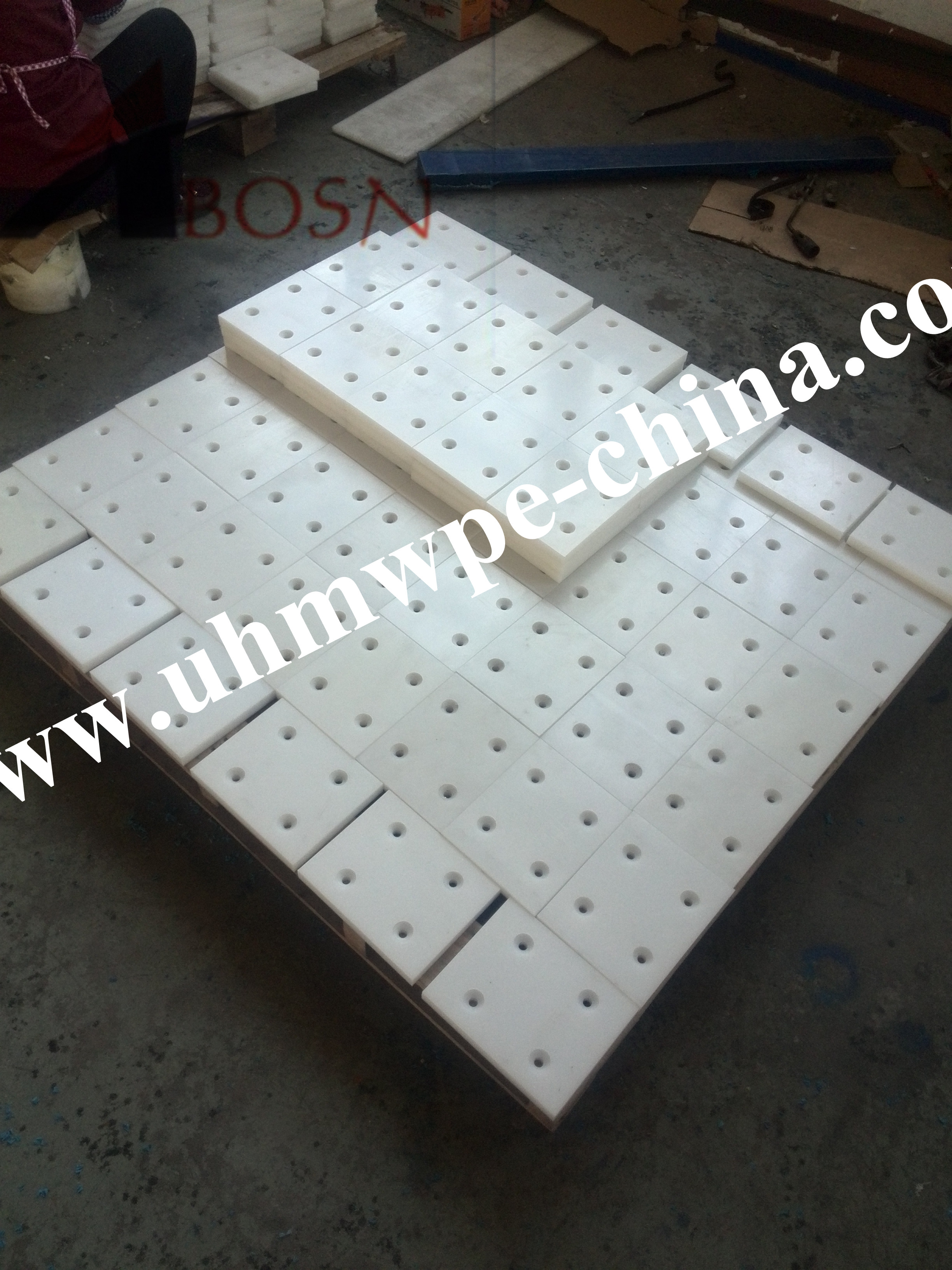 Ceramic UHMWPE Sheet for Suction Box Cover
