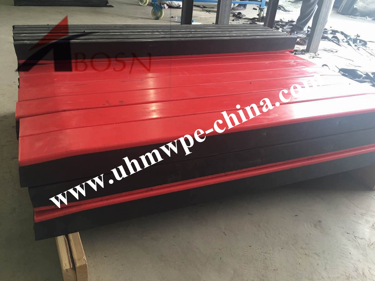 UHMWPE Conveyor Impact Bar
