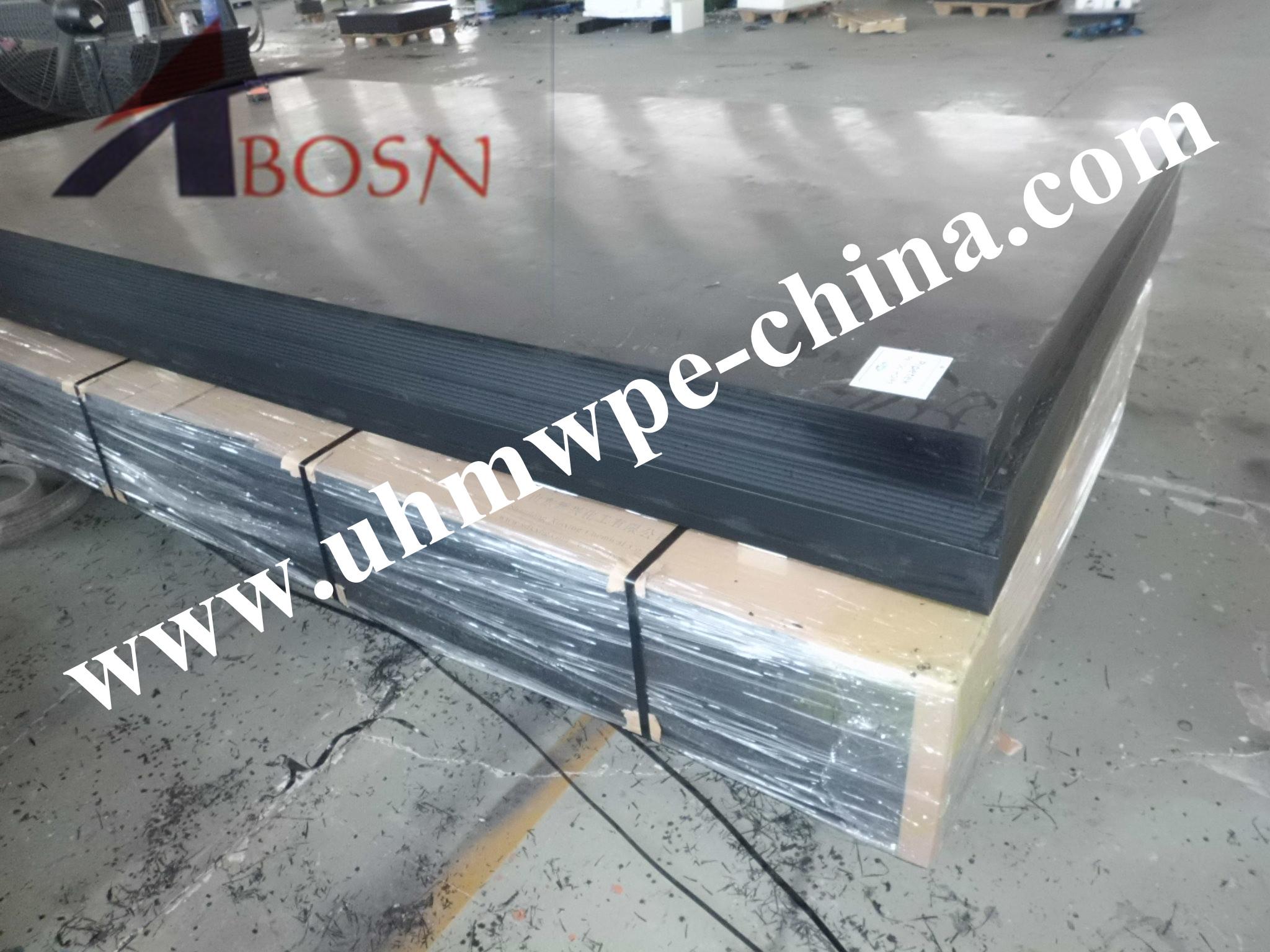 6050x1820mm Polyethylene PE1000 sheet