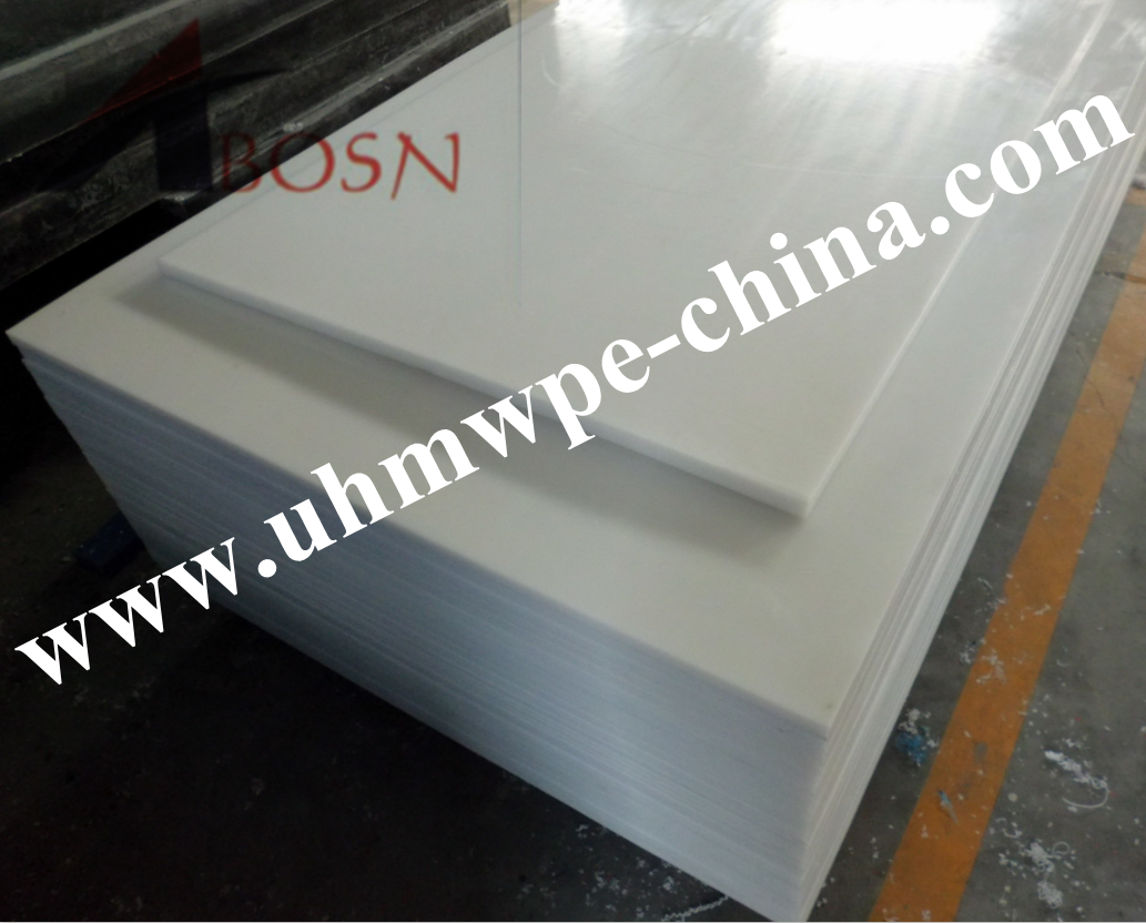 White Virgin UHMW Polyethylene Sheet