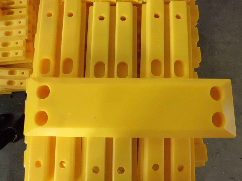 UHMWPE Track Pad for Milling Machine and Excavator