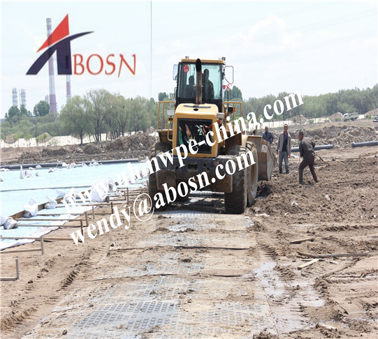 Ground Protection Mat for Construction Site