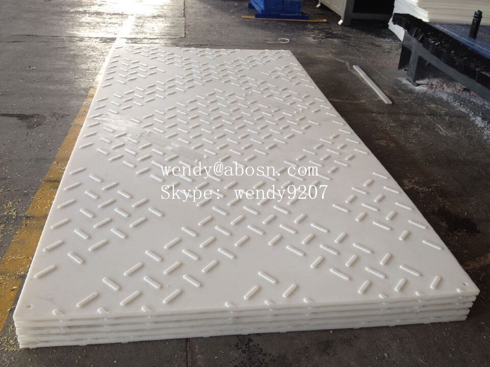 Moulded UHMWPE Ground Mat for Oil Exploitation