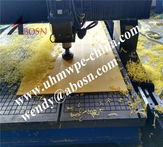 CNC Processing UHMWPE Sheet