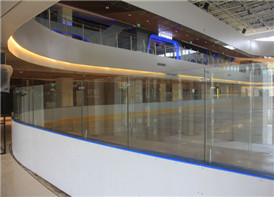 Hockey Dasher Board with Glass