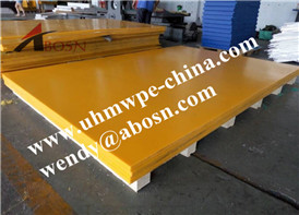 Yellow UHMWPE Sheet in Thailand
