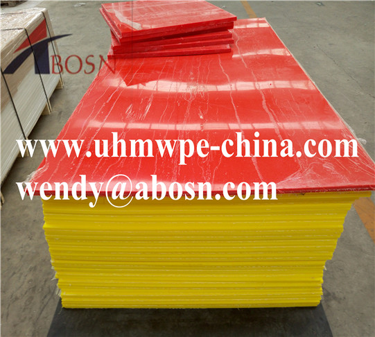 Colored HDPE Extrude Plastic Sheet