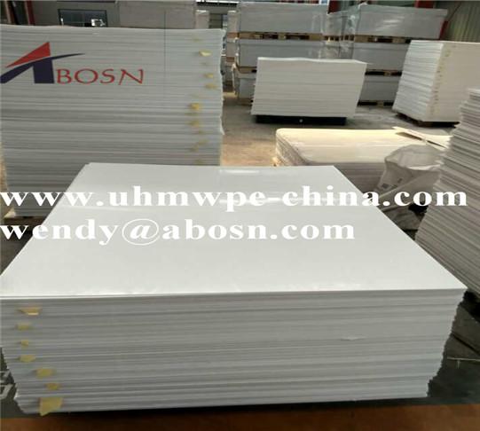 White Virgin HDPE Sheet