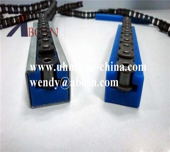 CNC UHMWPE Chain Sliding Track