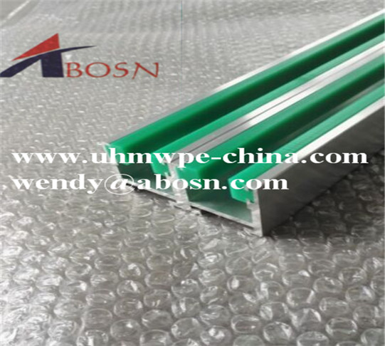 Green UHMWPE Chain track