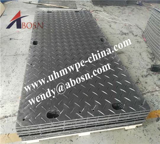 Black Ground Protection Mats