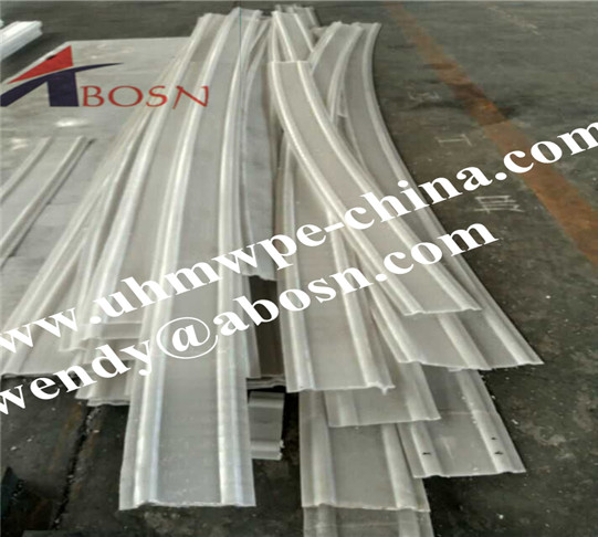White UHMWPE Plastic Wear Strips