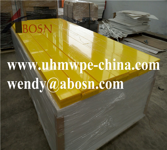 UHMWPE Plastic Wear Resistance Parts
