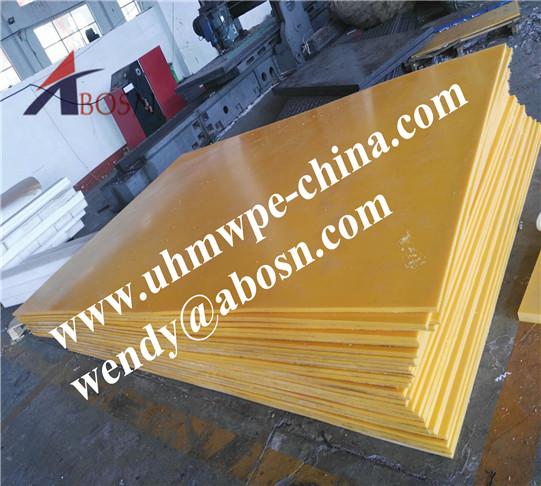 High Impact Strength Polyethylene PE1000 sheet