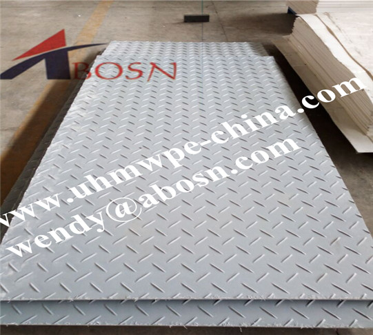 Grey Color HDPE Recycled Composite Ground Protection Mat