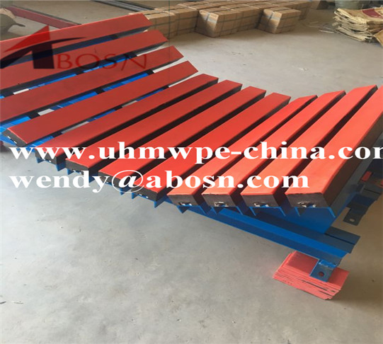 Customized UHMWPE Impact Bed for Belt Conveyor