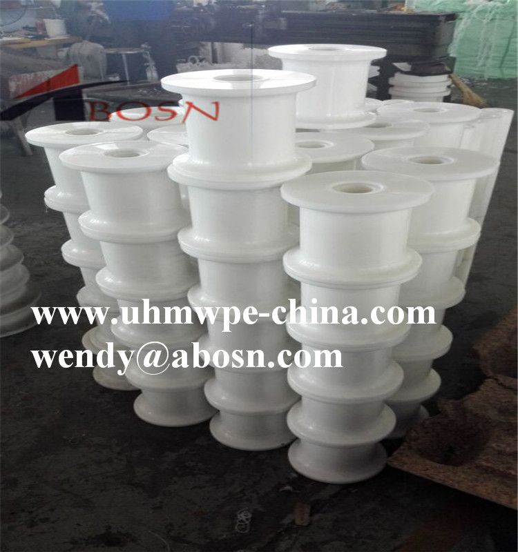 UHMWPE Port Machinery Crane Parts