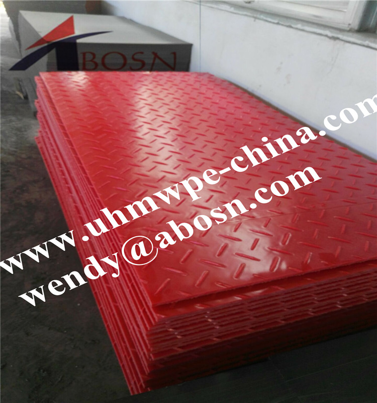 Red Color Ground Protection Mat