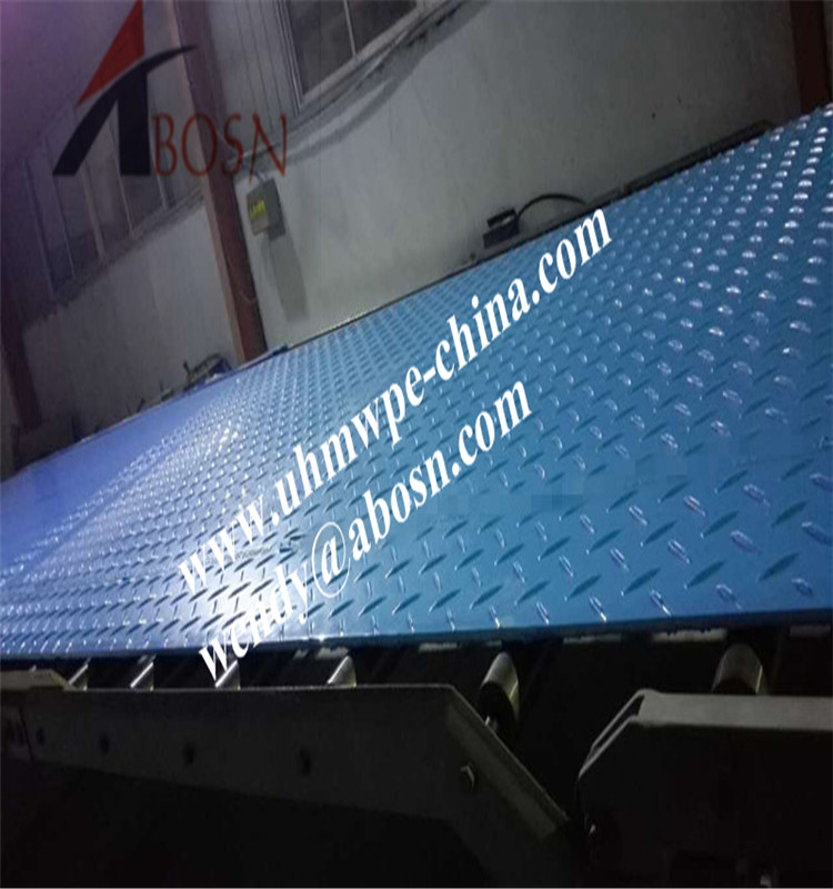 Recycled Plastic Road Mat for Pedestrian Walkways