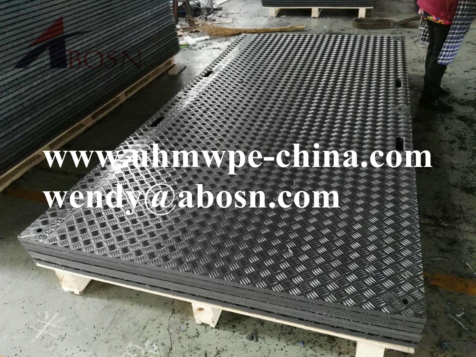 High Density Polyethylene Flooring Mat for Pathway