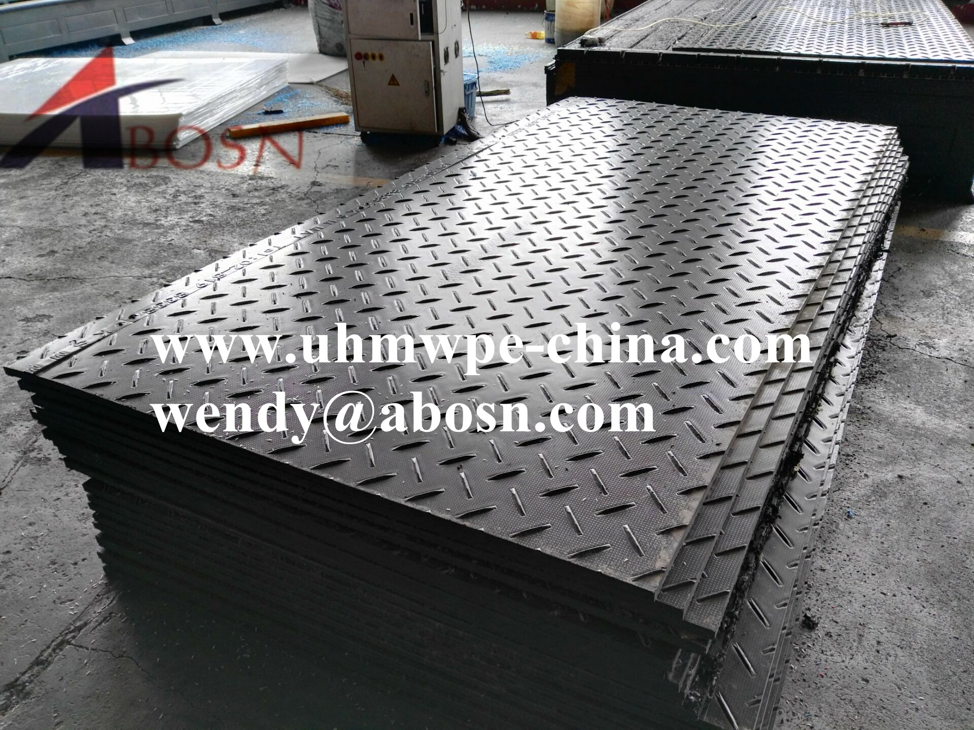 Heavy Duty Interlocking Access Mat for Pathway