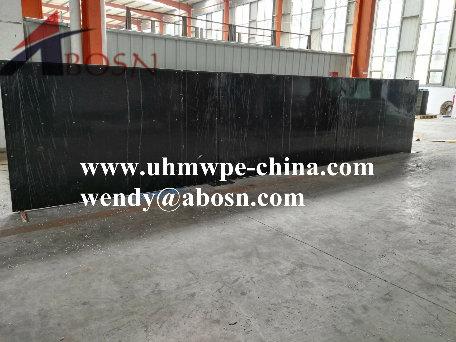 Black Outdoor Playground Plastic Barrier