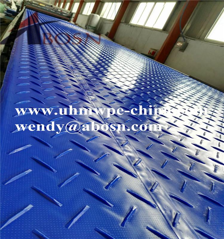 Versatile Ground Cover Mat in Dark Blue