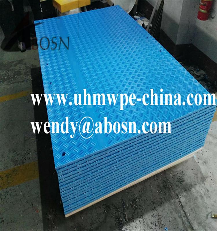 4x8 Plastic HDPE Ground Mat