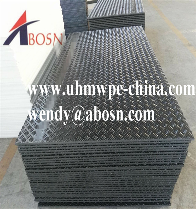HDPE Track Mat for Heavy Equipment