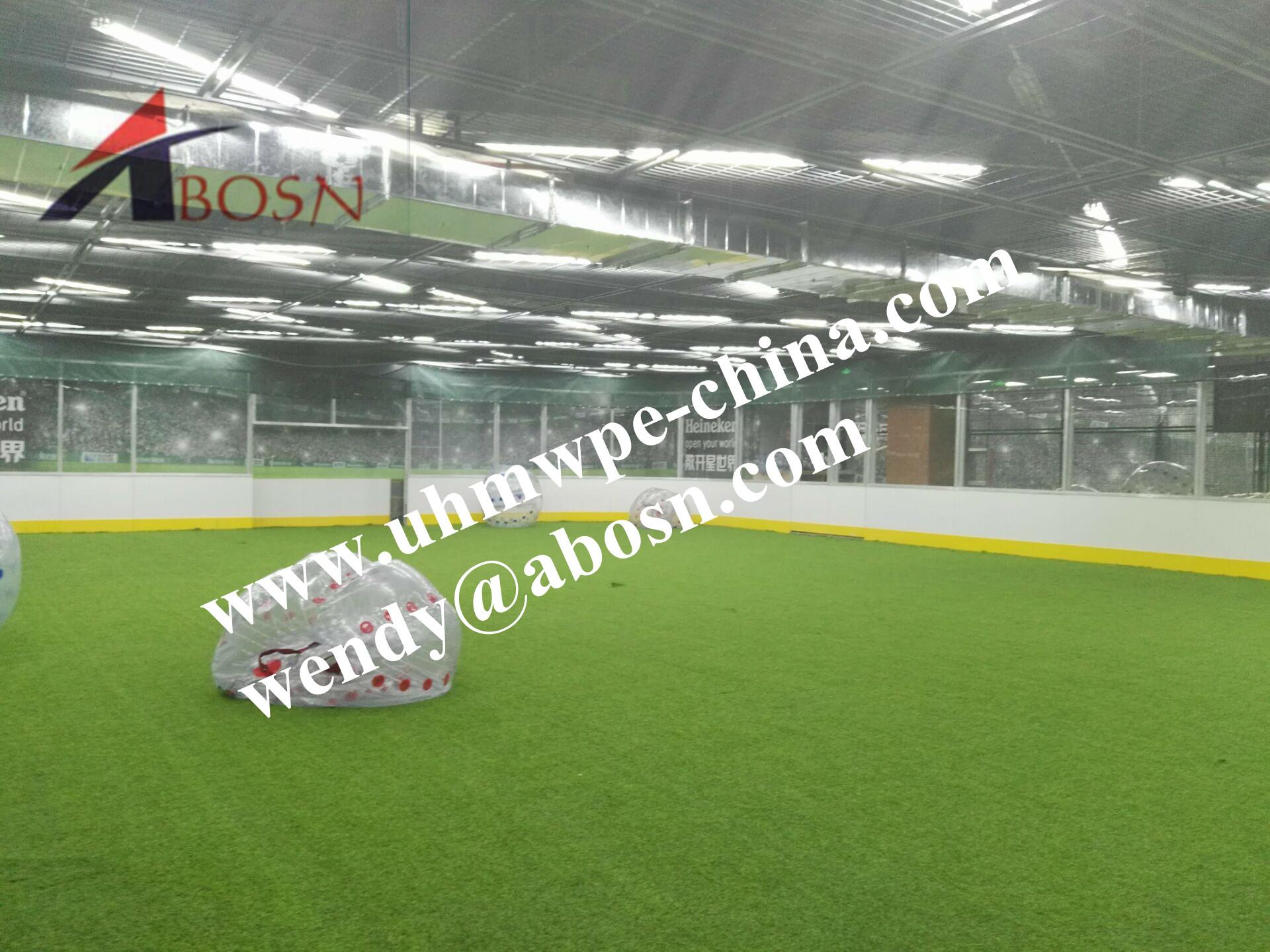 Durable Soccer Field Barrier