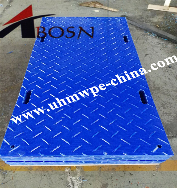 Temporary Plastic Ground Cover Mat