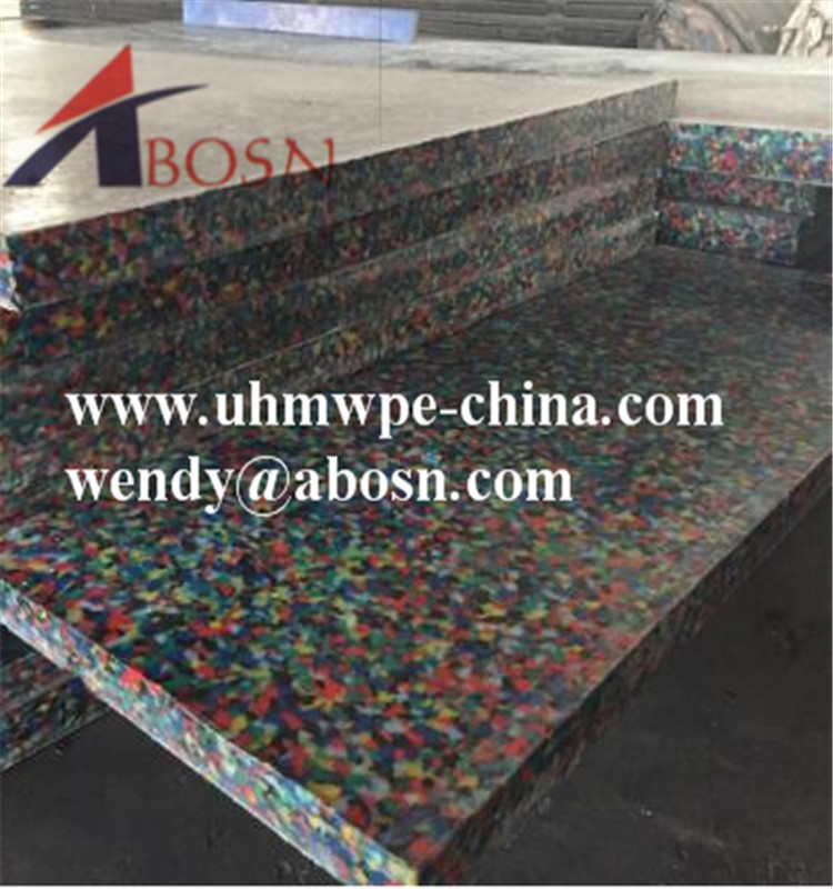 Colorful UHMW Polyethylene Sheet