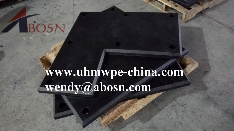 """L"" Shape UHMW Polyethylene Facing Panel"