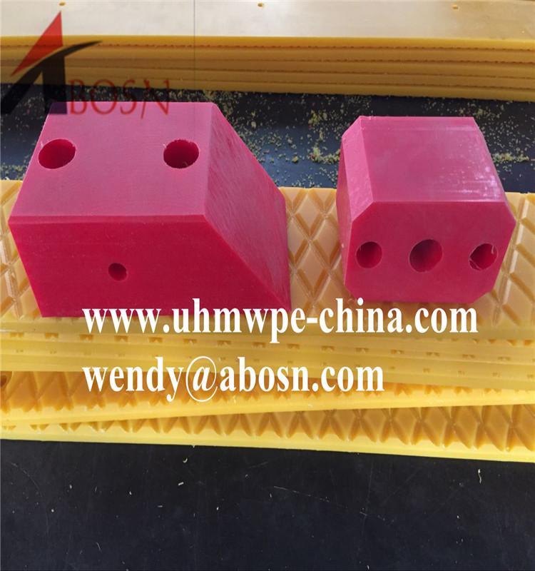 CNC Customized Plastic Block