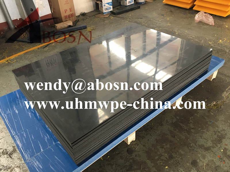 Black HDPE Mirror Sheet
