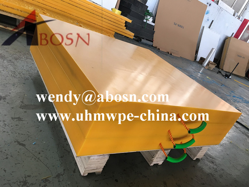 Portable Plastic Crane Support Pad