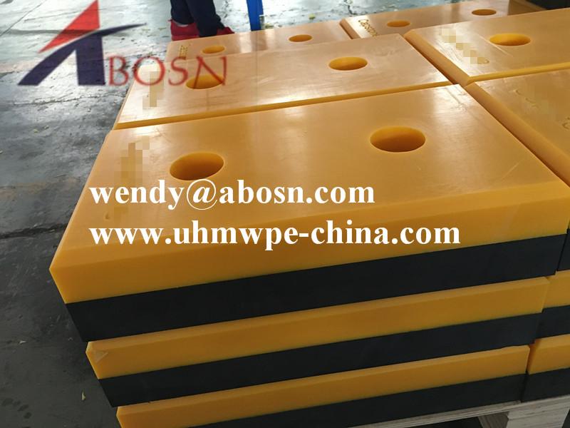 Vertical Laminated Rubber Dock Bumper