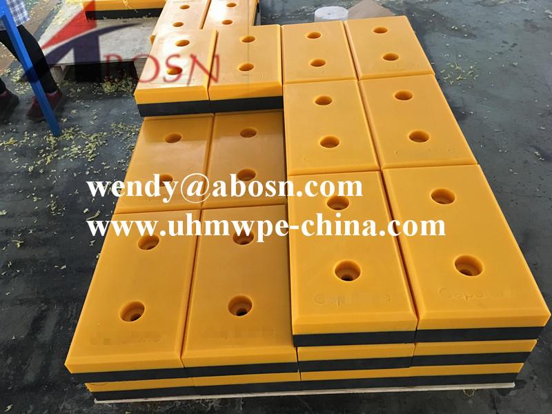 Yellow Polythene Dock Bumper