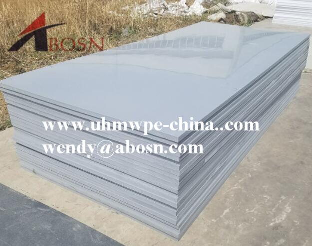 Grey Smooth HDPE Sheet