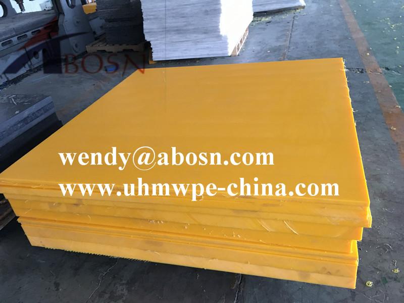 Colorful Polyethylene Uhmw Sheet