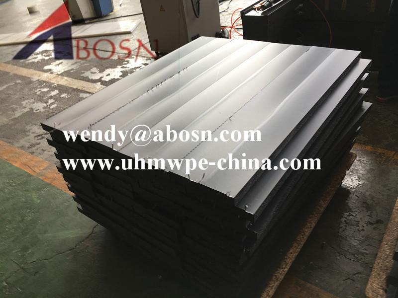 Black UHMW Polyethylene Pad